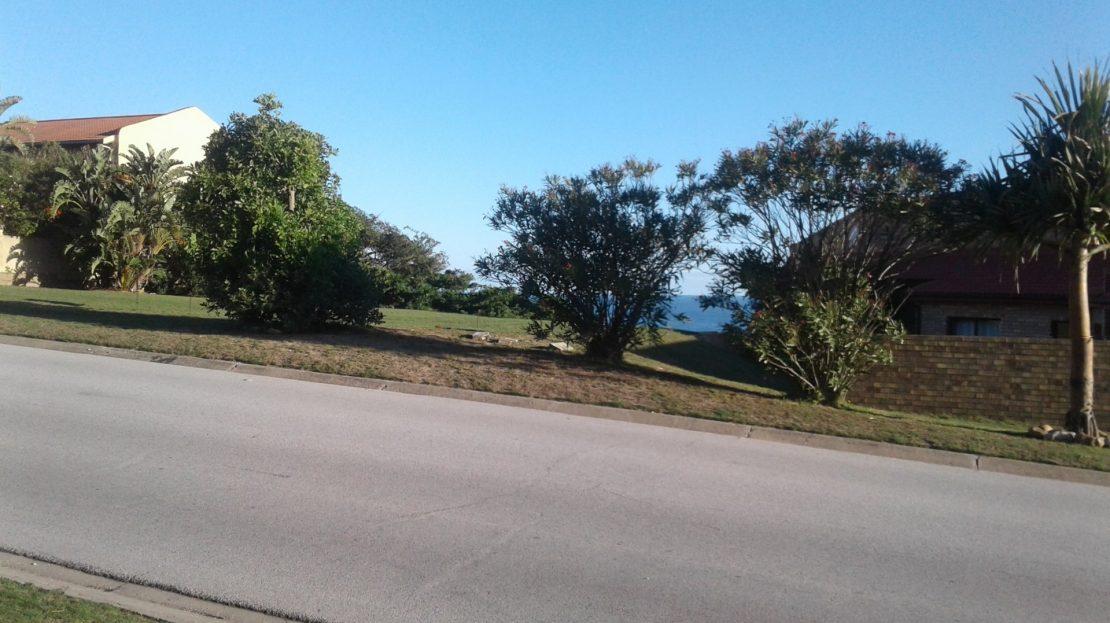 Blue Horizon Bay Plot View from across the street